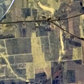 Dunning property aerial photo Apr. 17, 1974. USGS.