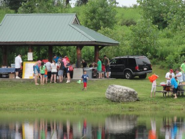 The 2013 annual kid's fishing derby at Bill Pavlus Pond at the Skaneateles Conservation Area on Old Seneca Turnpike.