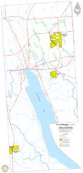 The town-owned conservation areas within the Town of Skaneateles.